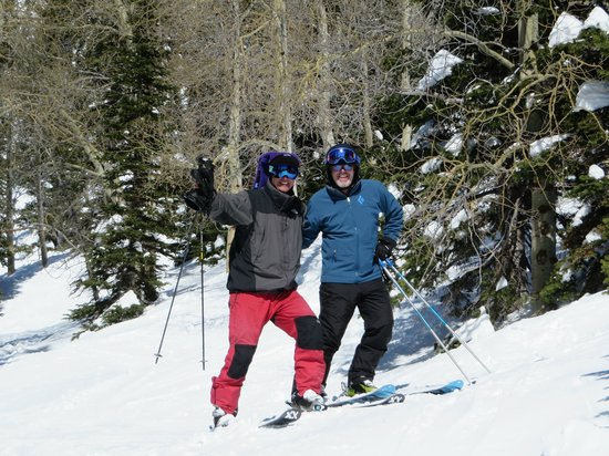 Jackson Hole Mountain Resort : College buddies