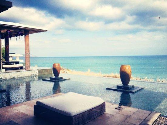 Mia Resort Nha Trang : View from Reception