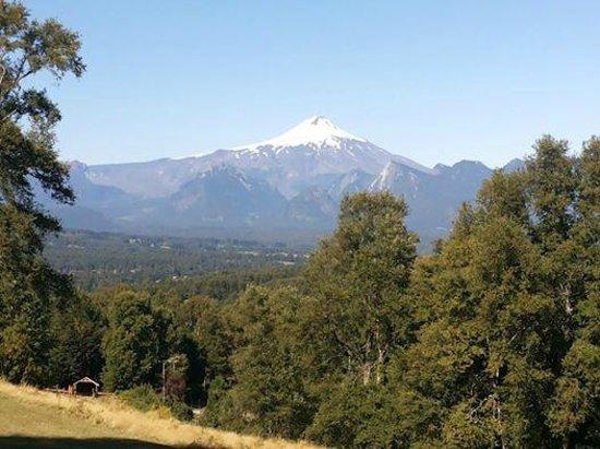 Mirador los Volcanes Lodge & Boutique: Vista de mi habitación