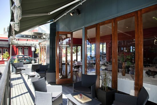 Copthorne Hotel Grand Central New Plymouth: Outdoor balcony