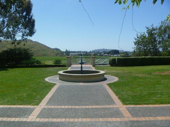 Mission Estate Winery: Mission rear garden
