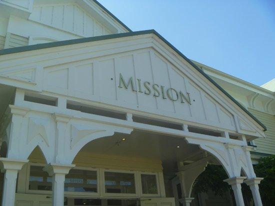 Mission Estate Winery: Mission entrance II