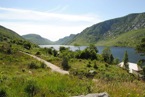 Castillo Glenveagh: Outstanding views