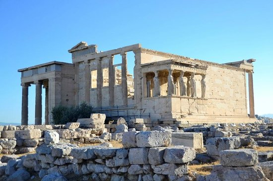 Attica, Greece: My favourite, the Erechtheion