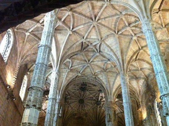 Monastère des Hiéronymites : Interior do Mosteiro - Detalhe do teto