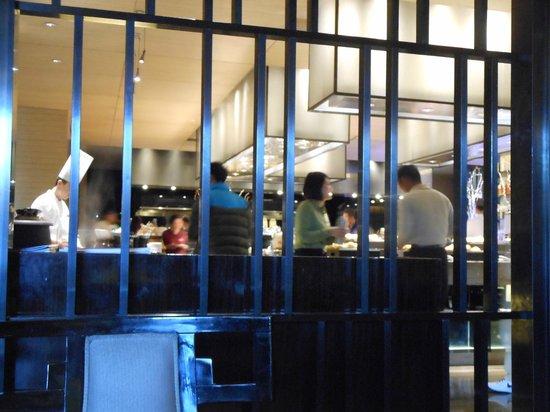 Wanda Realm Beijing: Part of the breakfast buffet area