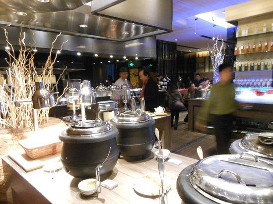 Wanda Realm Beijing: Part of the breakfast buffet