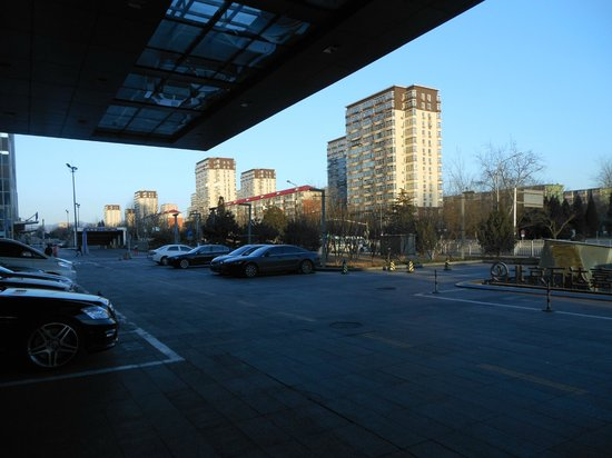 Wanda Realm Beijing: What you see when you walk out of the front of the hotel