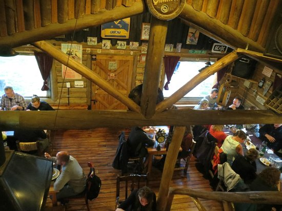 La Tapera: Vista de cima do restaurante