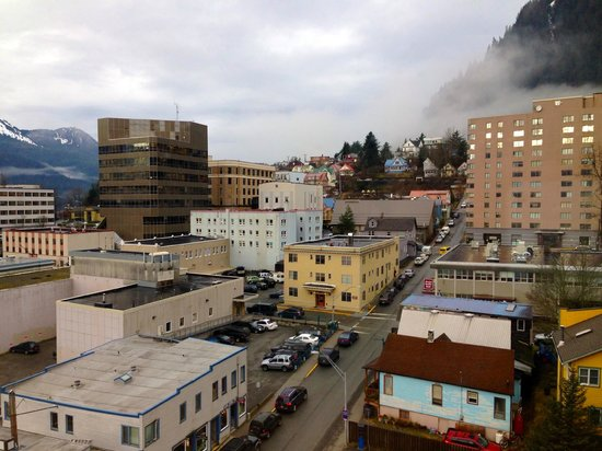 Westmark Baranof Hotel: View of downtown Juneau