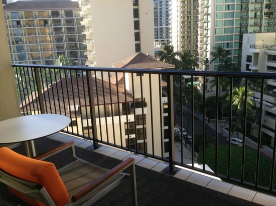 Sheraton Waikiki: My city view from the room - ask for ocean view if possible