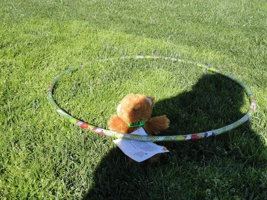 MarBrisa Carlsbad Resort: Hula Hoop Contest that I won