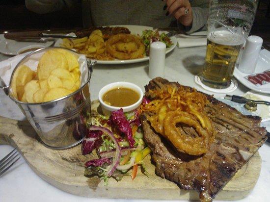 Newpark Hotel: T-Bone Steak at Newpark