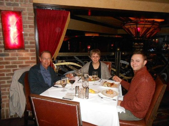 Vic & Anthony's Steakhouse - Las Vegas : about to eat excellent food