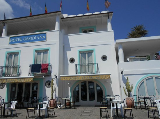 Hotel Ossidiana Stromboli: Entrance