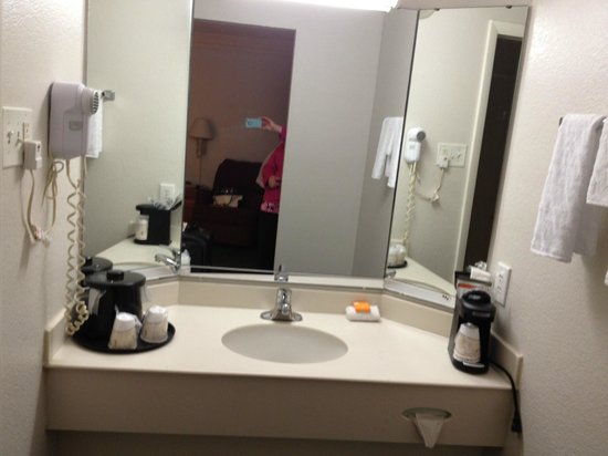La Quinta Inn Fort Myers Central: Sink Area