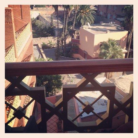 Varanda do Hotel Almas