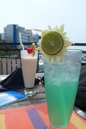 The Sea House - Maldives: cucumber drink