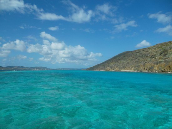 Teague Bay, St. Croix: wow the color of the water!