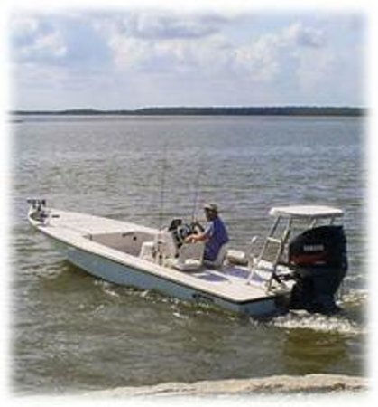 Flats boat picture of everglades fishing with captain for Everglades fishing guide