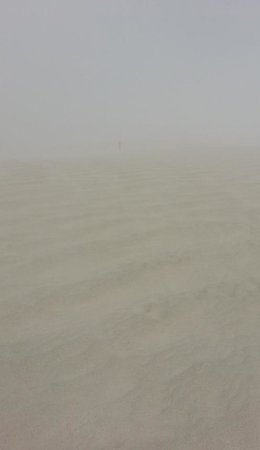 White Sands National Monument: where's the trail marker?