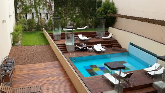 Be Trimos Hotel: Vista desde la habitación 101