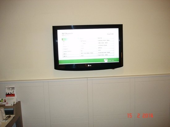 Holiday Inn Hull Marina: TV