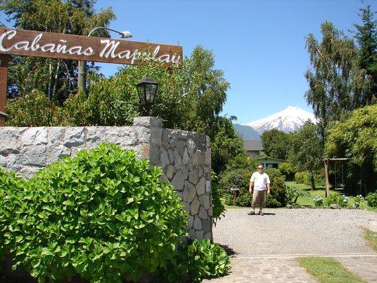 Cabanas Mapulay: Entrada do Hotel/Cabana