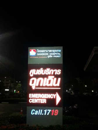 Phuket Sail Tours: Bangkok Hospital in Phuket