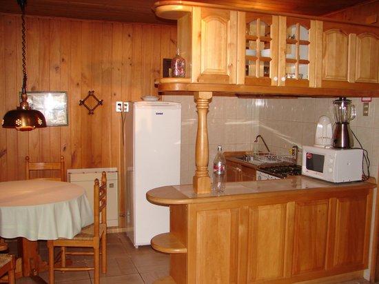 Cabanas Mapulay: Cozinha da Cabana