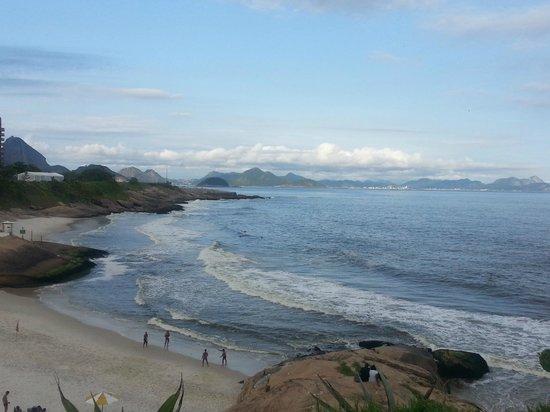 Arpoador beach : Vista