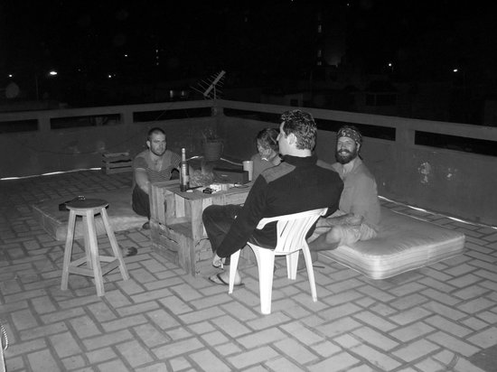 Counter Culture Party Hostel: Roof top social area