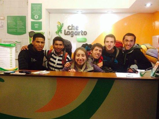 Che Lagarto Hostel Cusco: :)