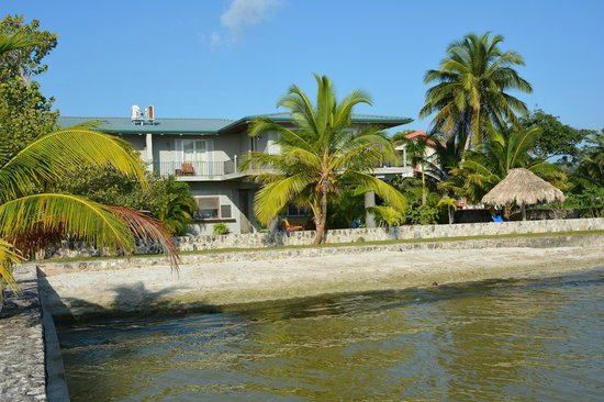Almond Tree Hotel Resort: Hotel view from Ocean side.