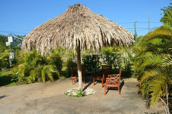 Almond Tree Hotel Resort: Pool side Palapa