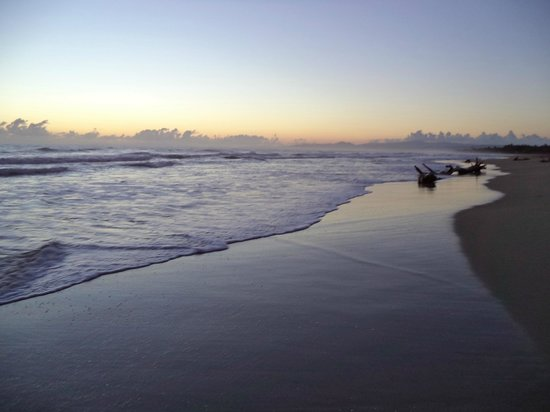 Barefoot Beach Pad: Sunrise on beach