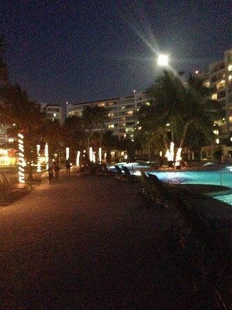 Dreams Villamagna Nuevo Vallarta: awesome night view