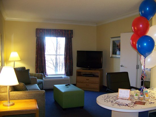 Hampton Inn & Suites Mooresville/Lake Norman: view as you come into suite