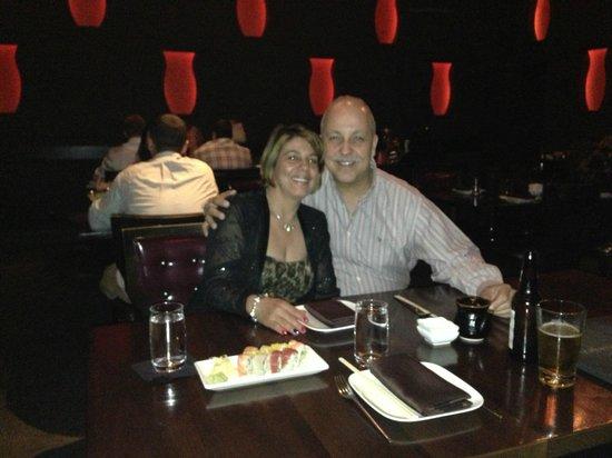 Borgata Hotel Casino & Spa : dining at Izakaya Japanese restaurant