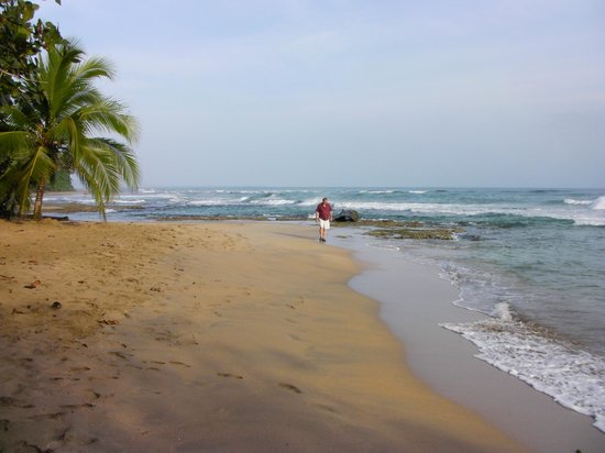 Hotel Casitas Mar Y Luz : Beach 10 min walk from your front door.