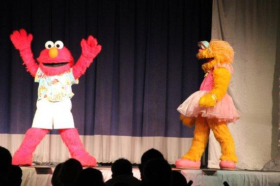 Beaches Turks & Caicos Resort Villages & Spa: Sesame Street Show