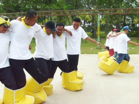 Fun Games & Team Building - Picture of Taman Budaya Sentul City ...