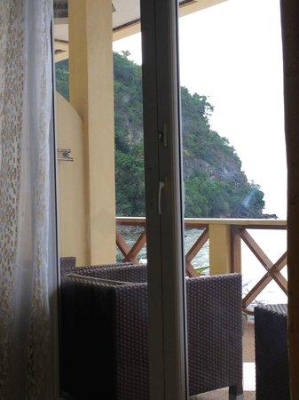 La Laguna Beach Club & Dive Centre : View from room.
