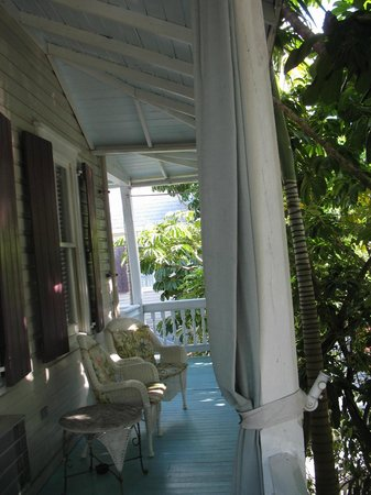 Coco Plum Inn Bed and Breakfast: Coco Plum balcony