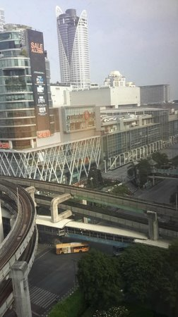 Grand Hyatt Erawan Bangkok: view from our room