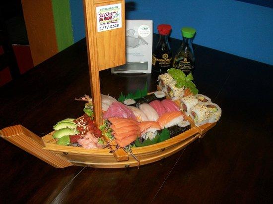 Sushi Los Amigos: Mini Boat c12.000