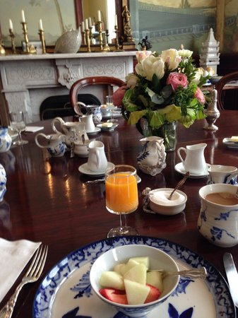 The Parsonage: Breakfast for a Princess