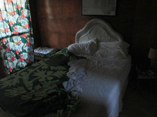 Raivavae Tama : Le lit confortable