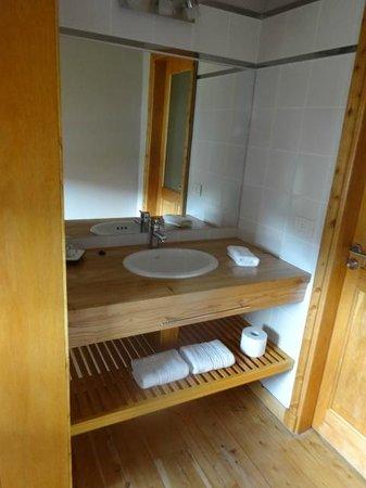 Hotel Destino Sur: Ante baño