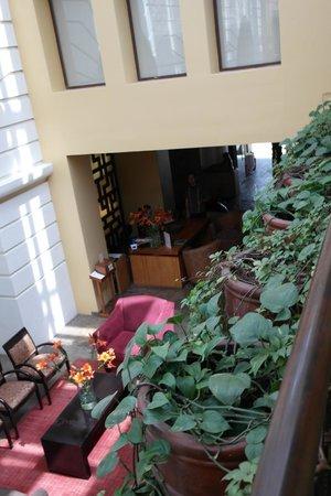 Casa del Alma Hotel Boutique & Spa: Vista del lobby